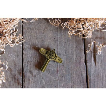 Noble And Cooley Drum Key Antique Brass