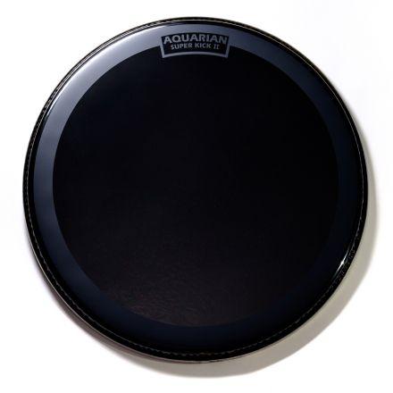 "Aquarian Reflector Bass Drumhead 20"" w/ Superkick Ring"