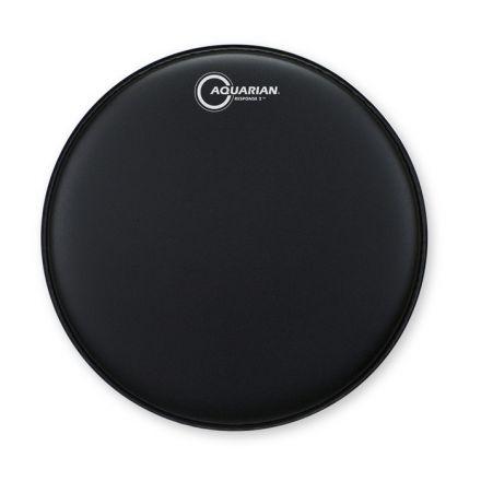 Aquarian Drum Head PrePacks : Texture Coated Response 2 PrePack 10/12/16 Black