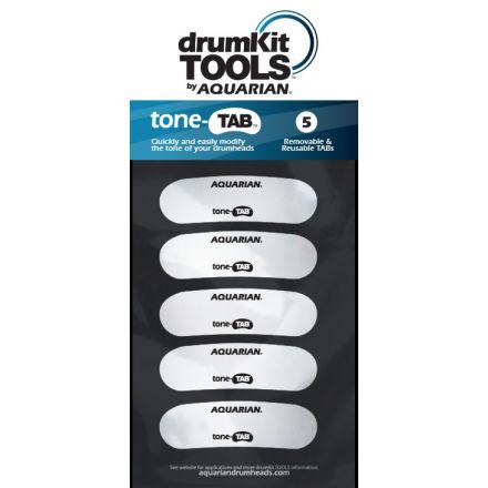 Aquarian toneTAB Drum Tone Control Pads 5pack