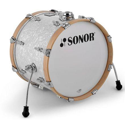 Sonor AQ2 16x15 Maple Bd w/Mount - White Marine Pearl