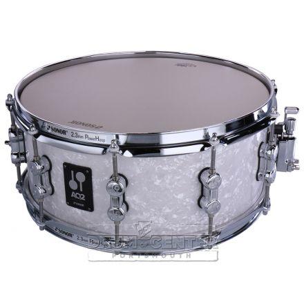 Sonor AQ2 14x6 Maple Snare - White Marine Pearl