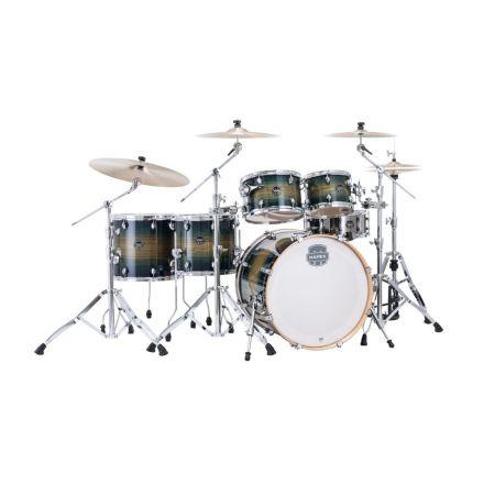Mapex Armory Series Studioease Drum Set Fast Toms - 22/10/12/14/16/14 - Rainforest Burst
