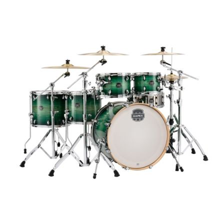 Mapex Armory Series Studioease Shell Pack Fast Toms Emerald Burst