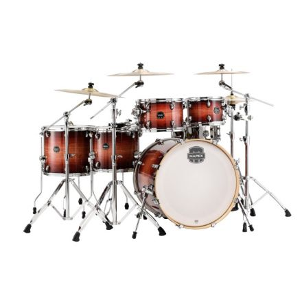 Mapex Armory Series Studioease Shell Pack Fast Toms Redwood Burst