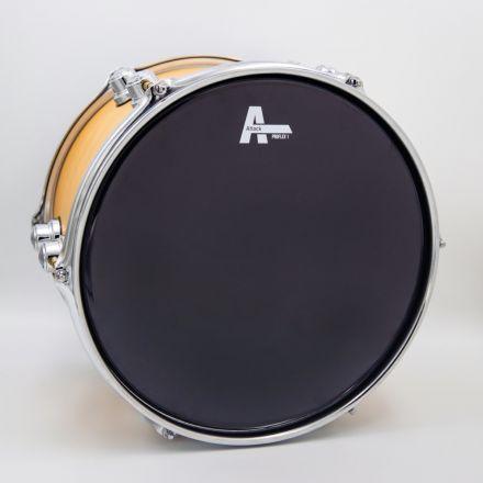 """Attack Pro Flex 1 Series 1 Ply Medium Black Drum Head - 12"""""""