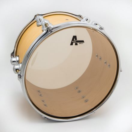 "Attack Pro Flex 1 Series 1 Ply Medium Clear Drum Head - 12"""