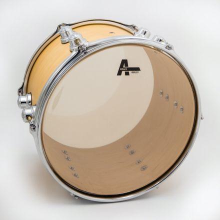 "Attack Pro Flex 1 Series 1 Ply Medium Clear Drum Head - 6"""