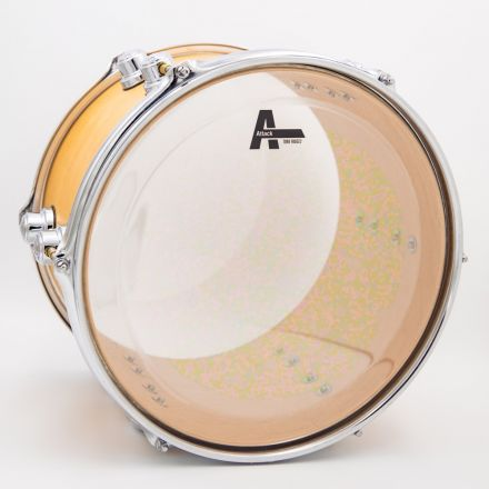 "Attack Tone Ridge 2 Series 2 Ply Medium Clear Drum Head - 16"""