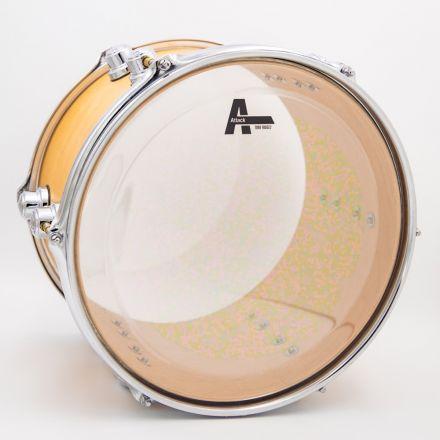 "Attack Tone Ridge 2 Series 2 Ply Medium Clear Drum Head - 18"""