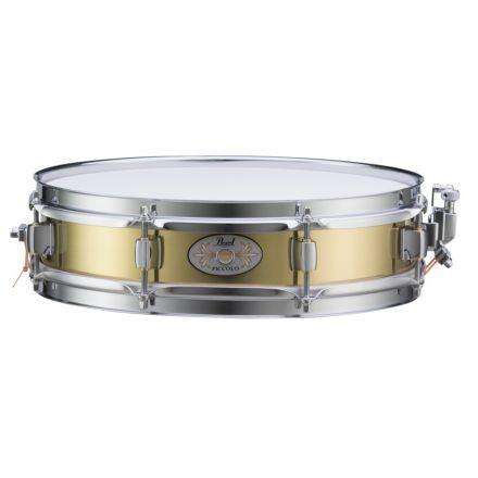 Pearl Brass Shell 13x3 Piccolo Snare Drum