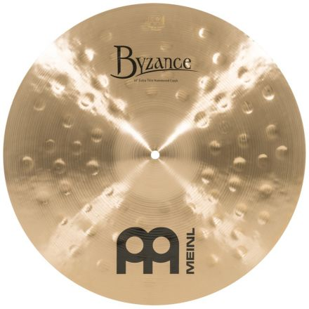 Meinl Byzance Traditional Extra Thin Hammered Crash Cymbal 18