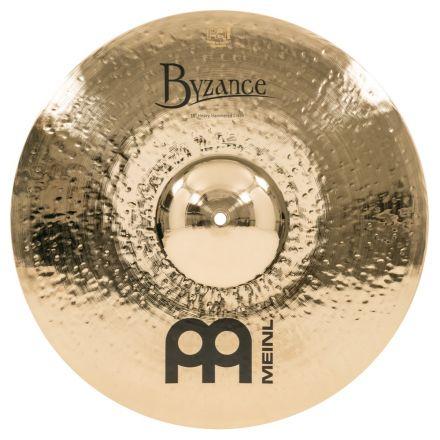 """Meinl Cymbals B18HHC-B Byzance Brilliant 18"""" Heavy Hammered Crash"""