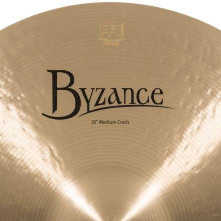 Meinl Byzance Traditional Medium Crash Cymbal 18