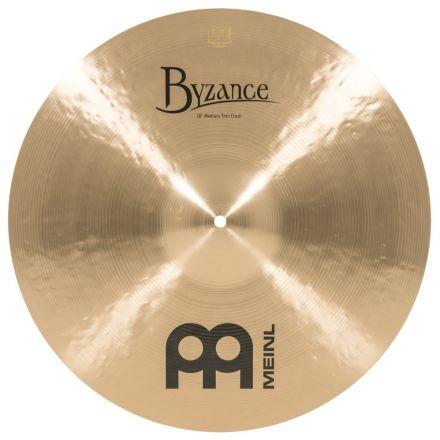 Meinl Byzance Traditional Medium Thin Crash Cymbal 18