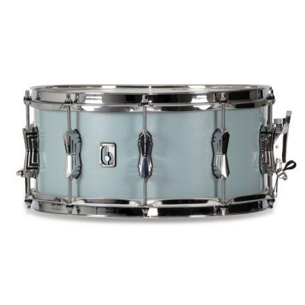 British Drum Co Legend Snare Drum 14x6.5 Skye Blue