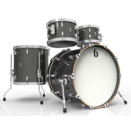 British Drum Co Legend Fusion 4pc Drum Set 10/12/16/22 Night Skye