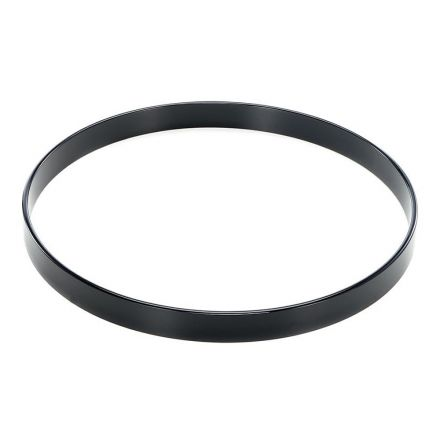 """32"""" Black Lacquer Bass Drum Hoop"""