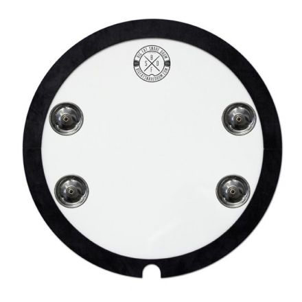 "Big Fat Snare Drum Snare-Bourine 10"""