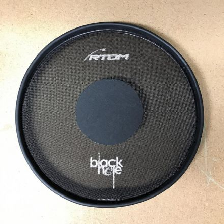 Black Hole Drum Silencing Pad - 8 Inches