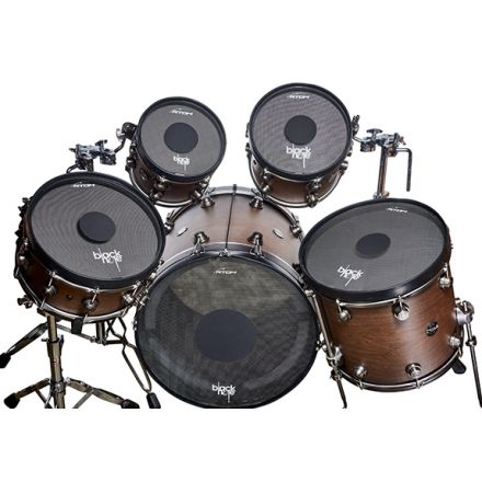 Black Hole Drum Silencing Set for 5pc Kit 22/10/12/16/14
