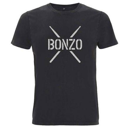 John Bonham Bonzo Stencil T-shirt - Large