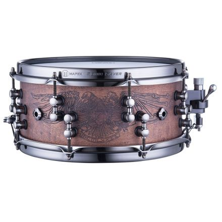 Mapex Black Panther Design Lab 12x5.5 Chris Adler Snare Drum - Natural Walnut