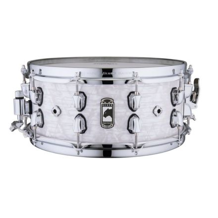 Mapex Black Panther 14x6 Heritage Snare Drum - White Strata