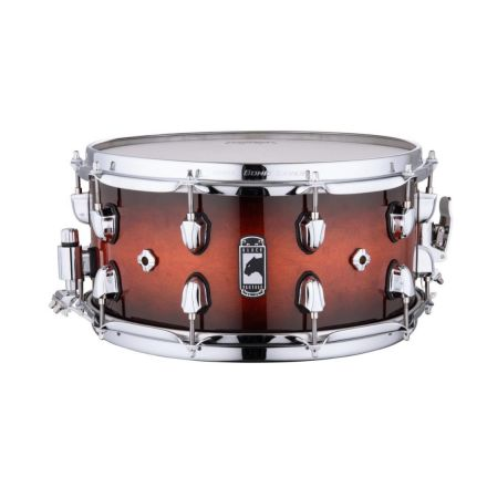 Mapex Black Panther 14x7 Solidus Snare Drum - Red Black Burst