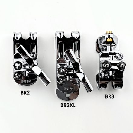 INDe Drum Labs BR2XL Suspension Bracket 2-3.2 Hole Spacing