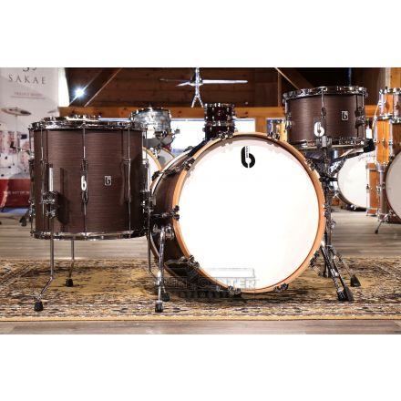 British Drum Company Lounge Club 3pc Drum Set Kensington Crown