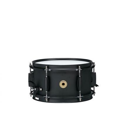 Tama Metalworks 10x5.5 Steel snare drum w/ Matte Black Shell Hardware