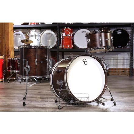C&C Player Date II 3pc BeBop Drum Kit Walnut