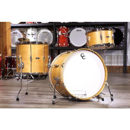 C&C Player Date II 3pc Big Beat Drum Kit Aged Maple