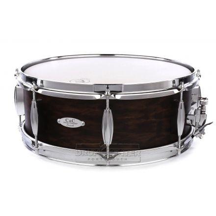 C&C Player Date II Snare Drum 14x5.5 Walnut Satin