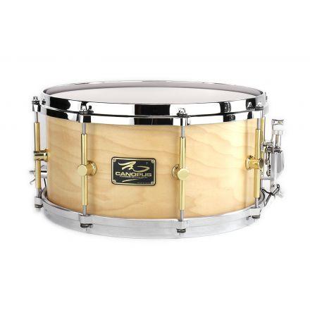 Canopus 'The Maple' Snare Drum 13x6.5 Oil