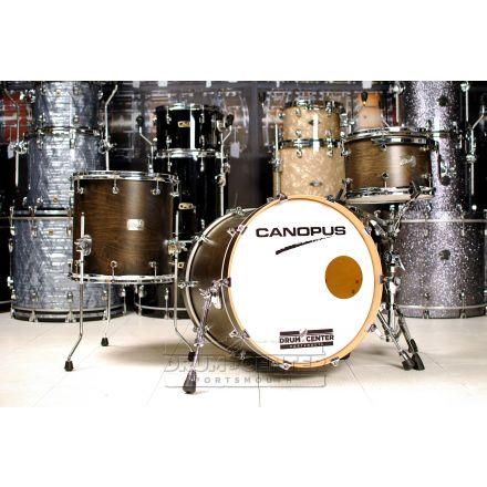 Canopus Birch 3pc Drum Set Ebony Matte Lacquer - Former DCP Video Kit!