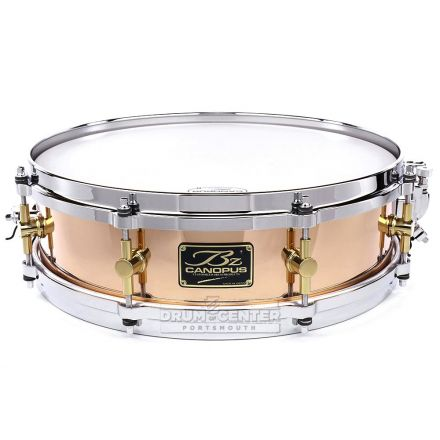 Canopus 'The Bronze' Snare Drum 14x4 w/ Cast Hoops