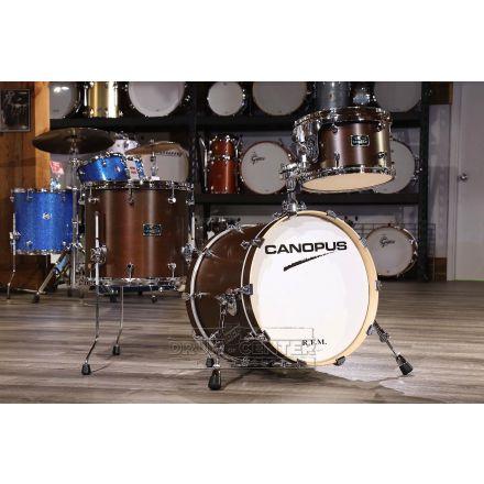 Canopus RFM 3pc Jazz Drum Set Bitter Brown Oil