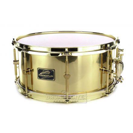 Canopus 'The Brass' Snare Drum 14x6.5 w/Brass Hardware