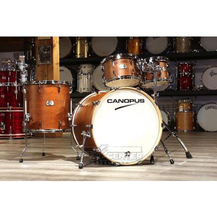 Canopus Yaiba 4pc Groove Kit Antique Brown Matte Lacquer