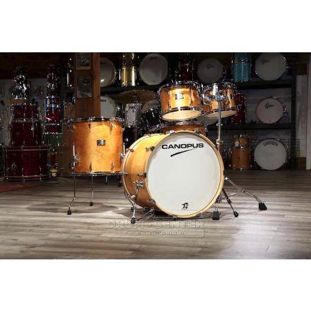 Canopus Yaiba 4pc Groove Drum Set Antique Natural Matte Lacquer