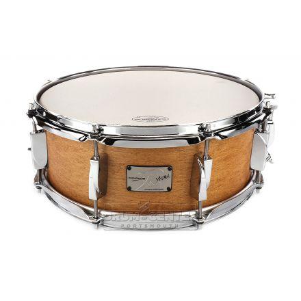 Canopus Yaiba Maple Snare Drum 14x5.5 Antique Natural Matte Lacquer