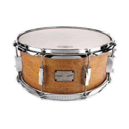 Canopus Yaiba Maple Snare Drum 14x6.5 Antique Natural Matte Lacquer