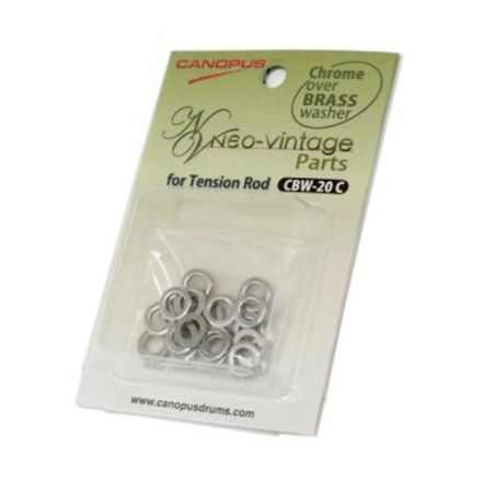 Canopus Chrome Over Brass Washer 20pk