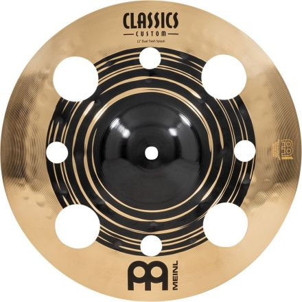 Meinl Classics Custom Dual Series Trash Splash Cymbal 12