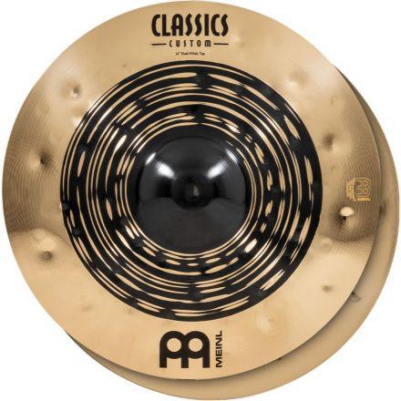 Meinl Classics Custom Dual Series Hi Hat Cymbal 14