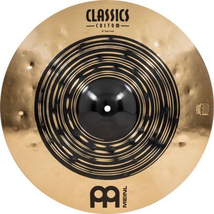 Meinl Classics Custom Dual Series Crash Cymbal 18