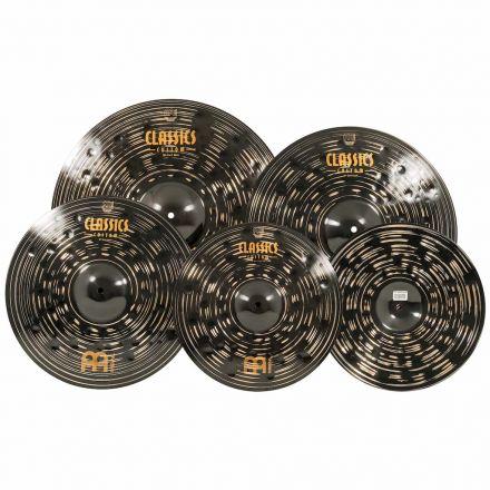 "Meinl Cymbals Classics Custom Dark Cymbal Box Set with Free 18"" Crash"