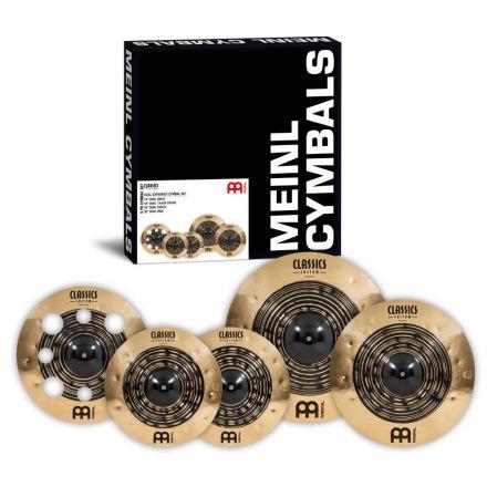 Meinl Classics Custom Dual Series Cymbal Set 14/16/18/20
